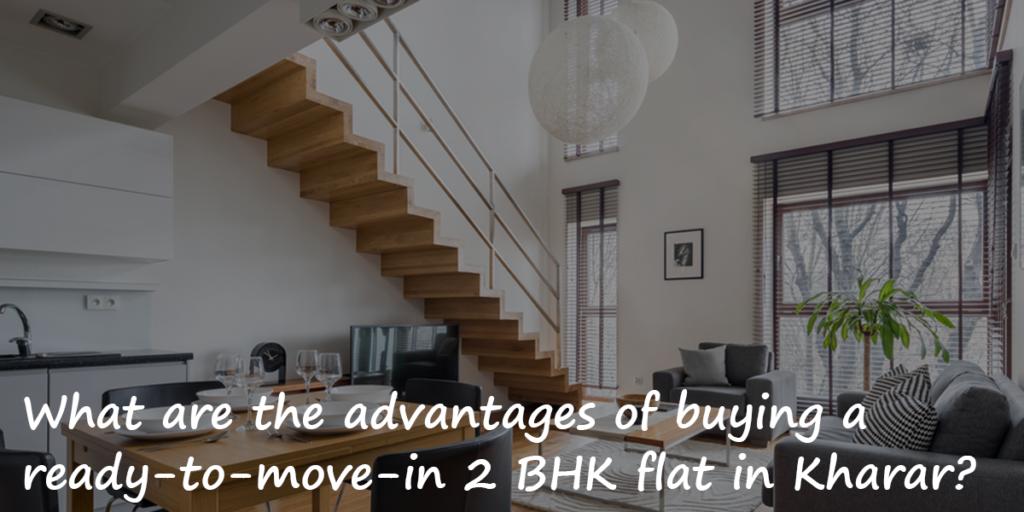 2 BHK flat in Kharar